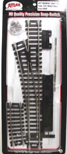 Atlas #860 Left-Hand Manual Snap Switch Track - HO Scale - Code 100 Rails - New