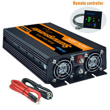 1000W 2000 watt DC 12V - AC 230V 240V Pure Sine Wave Power Inverter soft start