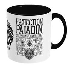 World of Warcraft / RPG inspired PROTECTION PALADIN Mug - Gamer Gift