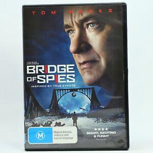 Bridge Of Spies Tom Hanks DVD Thriller Good Condition Free Tracked Post
