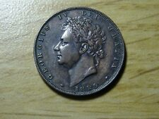 1829 georges IV farthing  monnaie anglaise