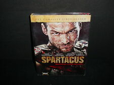Spartacus The Complete First Season DVD TV Widescreen 4 Disc