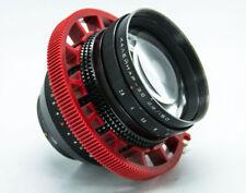 Cinematics Follow Focus gear ring Belt 80~90mm For DSLR Lens ring focusing red
