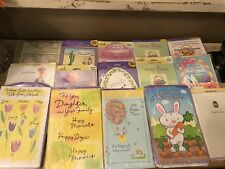 Easter Retail Card Sets Gibson American Greetings 15 Lot Large Wrapped
