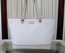 Kate Spade Taren Oliver Street Cream Pebble Leather Tote Bag Purse NWT $379