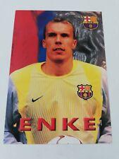 POSTAL ROBERT ENKE FC BARCELONA 2002-2003 FOOTBALL POSTCARD BARÇA GERMANY