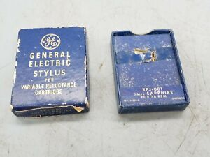 1 NOS  General Electric Stylus for Variable Reluctance Cartridge RPJ-001 78 RPM