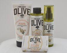 Korres Pure Greek Olive Honey Set 1) Body Oil 2) Body Milk 3) Showergel 4) SoaP