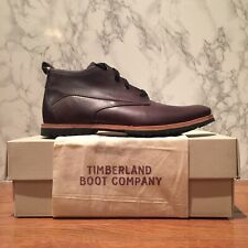 Timberland Men's A1J4D Boot Company Dark Brown Bardstown Plain Toe . Size:11