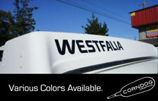 (1pair) Westfalia VINYL STICKER DECAL VANAGON BAY WESTY CAMPER BUS
