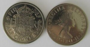 1953-1967 | Elizabeth II Half Crown | Choose Your Year | Free Post + Discounts