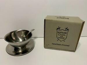 Northland Oneida Stainless Steel Gravy Sauce Ladle & bowl set With Box