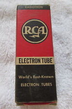 RCA Radiotron Electron Tube 7S7 in Box Vintage Untested