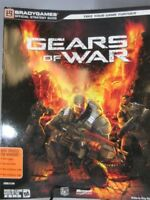 GEARS OF WAR video game Strategy Guide by BradyGames for XBox 360 and PC game