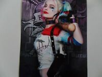 "Margot Robbie ""superhero'"" 8x10 Signed Photo Auto"