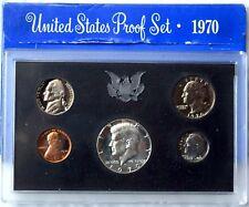 1970 S LEVEL7 MINT PROOF SET COLLECTIBLE US WORLD COINS UNIQUE GIFT IDEA LOT109