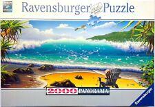 Ravensburger Puzzle 2000 Teile Panorama 16700 Cast Away/Meerblick