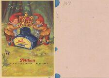 Papel secante. Pelikan. Tinta estilográfica azul real. 640.