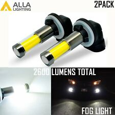 Alla Lighting 360° Shine 35-LED 881 Fog Light Bulb Super Bright 6000K White Lamp