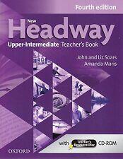 Oxford NEW HEADWAY Upper-Intermediate FOURTH ED Teacher's Book w CD-ROM @NEW@