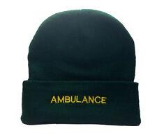 Ambulance Green Woolly Hat Paramedic St Johns Medic  First Responder