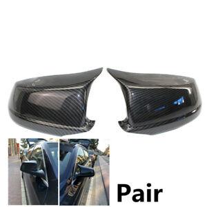 Fit For BMW F10 F11 5 Pre-LCI 2011-2013 Carbon Fiber Door Side Mirror Cover Caps