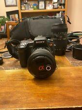 Sony Alpha A350 DSLR Camera Bundle