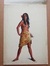 Renato Fratini Dessin Original Femme Asiatique Peinture érotique pin up James Bond