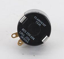 New Listingclarostat 73ja 25k 2w 5 Precision Wire Wound 10 Turn Potentiometer