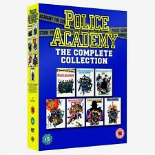 Police Academy Complete Movies DVD Collection Box Set Brand NEW