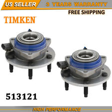 2x Timken Front Wheel Hub & Bearing Assembly Pair Fit For GMC Chevy Pontiac Set