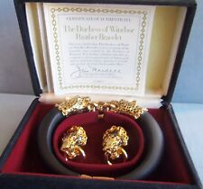 Franklin Mint The Duchess Of Windser Panther Bracelet  New in Box gorgeous