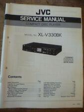 JVC XL-V330BK Compact Disc Player Service Manual