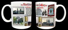 MARKHAM MAIN COLLIERY COAL MINE MUG. LIMITED EDITION GIFT MINERS YORKSHIRE PIT
