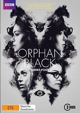 ORPHAN BLACK - SEASON 4  - DVD - UK Compatible -sealed (IN STOCK)