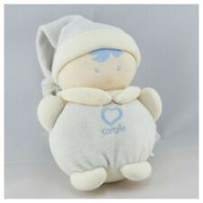 Doudou boule lutin enfant bleu coeur COROLLE - Poupée - Lutin Classique