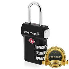 Administración de Seguridad de Transporte aprobar [] combinación de 3 Dígitos Bolsa de viaje maleta de equipaje bloqueo Candado Reset