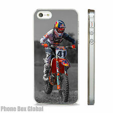 Exclusivo Estuche De Bicicleta de Red Bull Motocross se adapta iPhone 4 5 5S 5C 6 6S se 7 y Plus