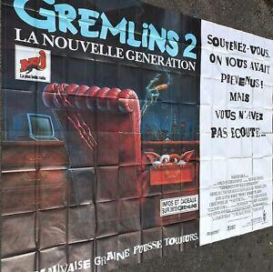 Plakat Kino Gremlins 2 - Format Riesig 4 x 3 M