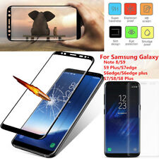 Tempered Glass Full Screen Protector Film For Samsung Galaxy S8 Plus S7 Edge New