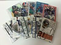 NFL Football Cards Party Favors, 10 Sets of 10 Football Cards in Gift Box
