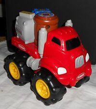 Camion électrique - Playskool Tonka  Hasbro 2001 - 3 piles - rouge 21x12x19cm