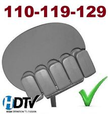 "24"" HD DISH NETWORK 500 1000 SATELLITE +3 DUAL LNB 110 119 129 HD BELL 91 82 FTA"