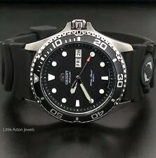 Orient Ray II Mens Automatic Power Reserve 200M Diver Watch FAA02007B9 Brand New