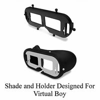 Nintendo Virtual Boy Eye Shade Visor & Holder Bracket - New Repair Parts