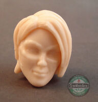"ML139 Custom Cast sculpt Female head use with 6"" Marvel Legends Figures"