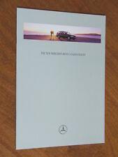 1996 Mercedes-Benz C-Class Estates original 30 page brochure
