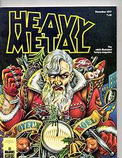 Heavy Metal Anthology Magazine Of SF & Fantasy Comic Strips & Stories Dec 1977