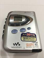 Sony Walkman Wm-Fx290 Am/Fm, Cassette Player, Tv Tuner, Excellent Condition