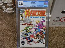 X-Factor 5 cgc 9.8 Marvel 1986 1st appearance of Apocalypse last page X-Men WHIT
